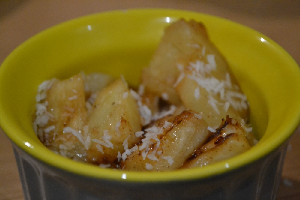 Ananas rôti aux épices (2/2)