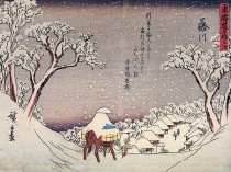 hiroshige-payasge-maison-et-homme-sous-la-neige--2-