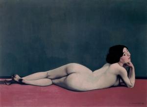 fc3a9lix-vallotton-nu-couchc3a9-sur-un-tapis-rouge-1909-huile-sur-toile-73-x-100-cm-c2a9-musc3a9e-du-petit-palais-genc3a8ve