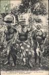 Nouvelle-Calédonie - Houaïlou : Le Chef Mindia et ses lieutenants