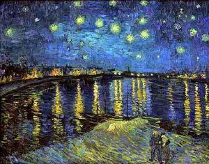 vincent-van-gogh-la-nuit-etoilee-sur-le-rhone1 van gogh painting