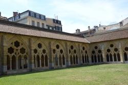 Bayonne, cloître de la cathédrale