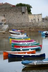 Ciboure, barques