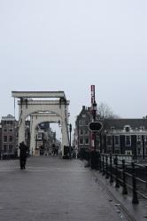 Amsterdam - pont mobile
