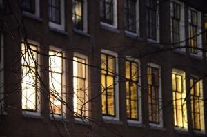Amsterdam - vue du nuit