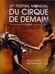 37° festival du cirque de demain, affiche
