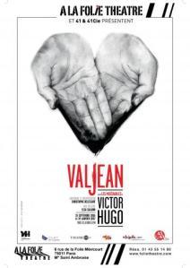 Valjean, A la folie théâtre, affiche