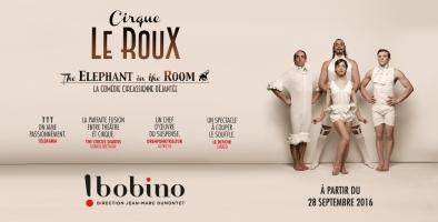 Cirque Le Roux Bobino affiche