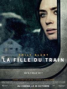 La fille du train, affiche