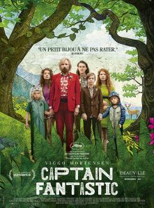 Captain Fantastic, affiche