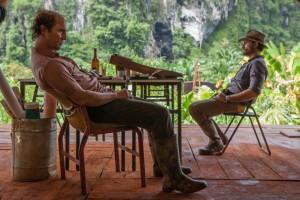 Kenny Wells (Matthew McConaughey) und Michael Acosta (Edgar Ramírez)