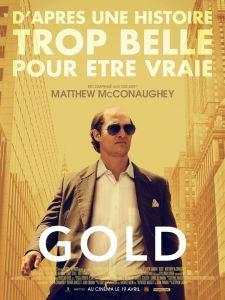 Affiche de Gold de Stephen Gaghan
