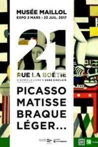 Affiche de l'exposition 21 rue de la Boétie