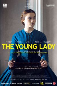 The young lady, affiche