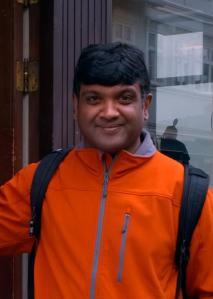 Portrait d'Arun Krishnan