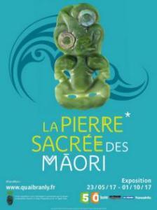 La pierre sacrée des maori, affiche