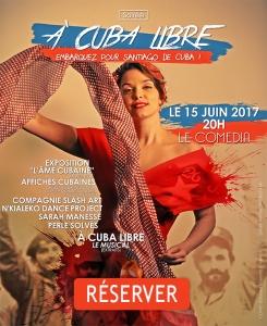 Affiche de la soirée A cuba libre