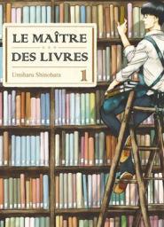 Le maître des livres, couverture
