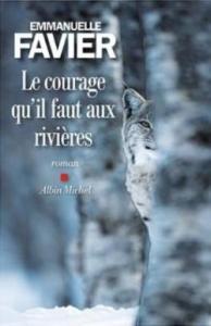 Le courage qu'il faut aux rivières, couverture