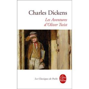 Couverture d'Oliver Twist de Charles Dickens