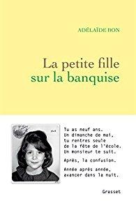 Couverture de La petite fille sur la banquise, Adélaïde Bon