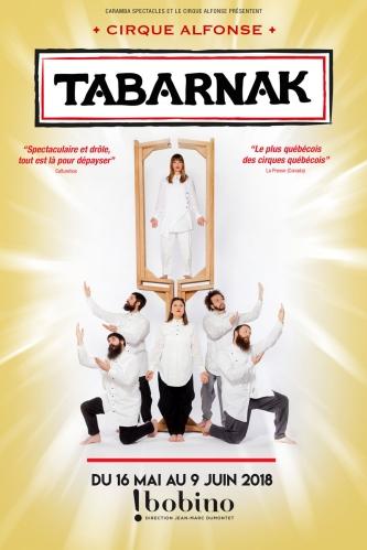 Tabarnak à Bobino, affiche