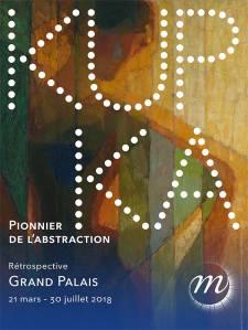 Affiche de l'exposition Kupka pionnier de l'abstraction
