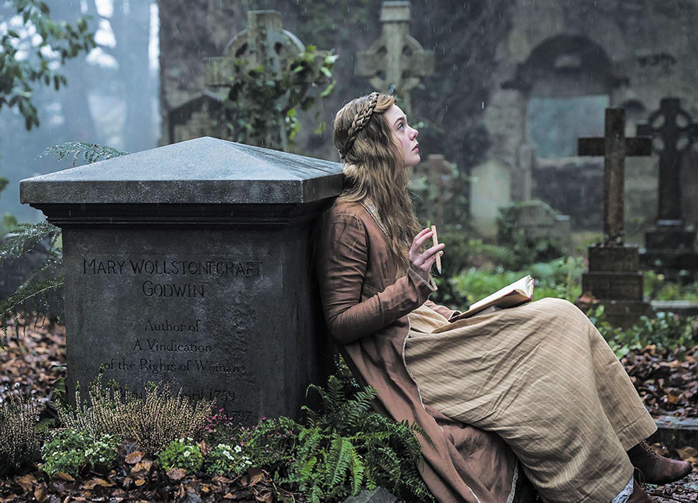 Image extraite du film Mary Shelley