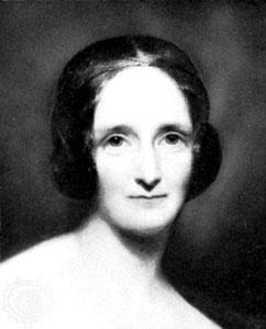 Portrait de Mary Shelley