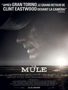 Affiche du film La Mule de Clint Eastwood