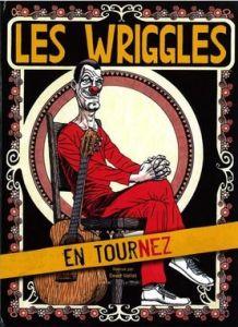Affiche de tournée les Wriggles