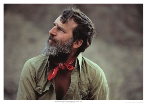 Portrait d'Edward Abbey