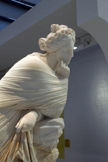 Sculpture expo Homère