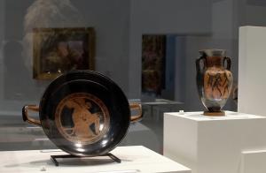 Plat de l'Antiquité, expo Homère