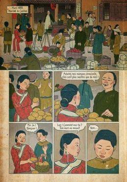 Planche extraite d'Opium