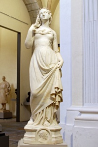 La salle des sculptures du musée des beaux-arts de Lyon