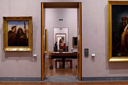 Salle du musée des beaux-arts de Lyon