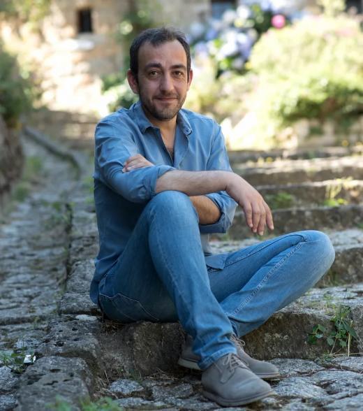 Portrait de Jérome Ferrari, écrivain