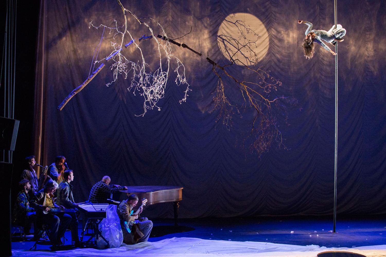 Photo du spectacle La dernière saison du Cirque Plume