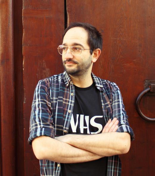 Portrait d'Olivier Bruneau, auteur