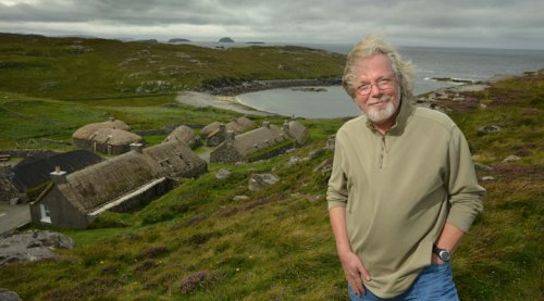 Portrait de Peter May en Ecosse