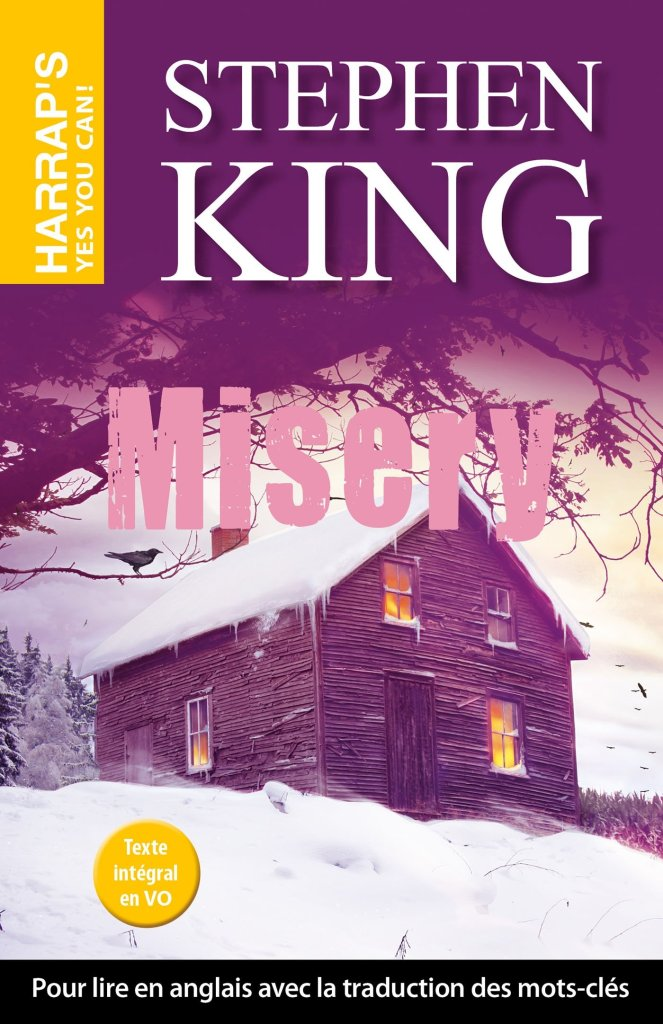 Couverture du roman Misery de Stephen King