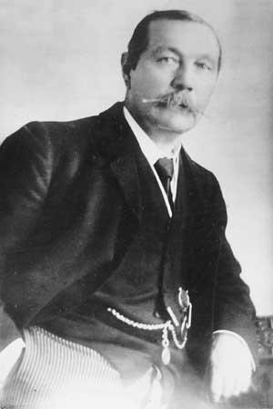 Portrait d'Arthur Conan Doyle