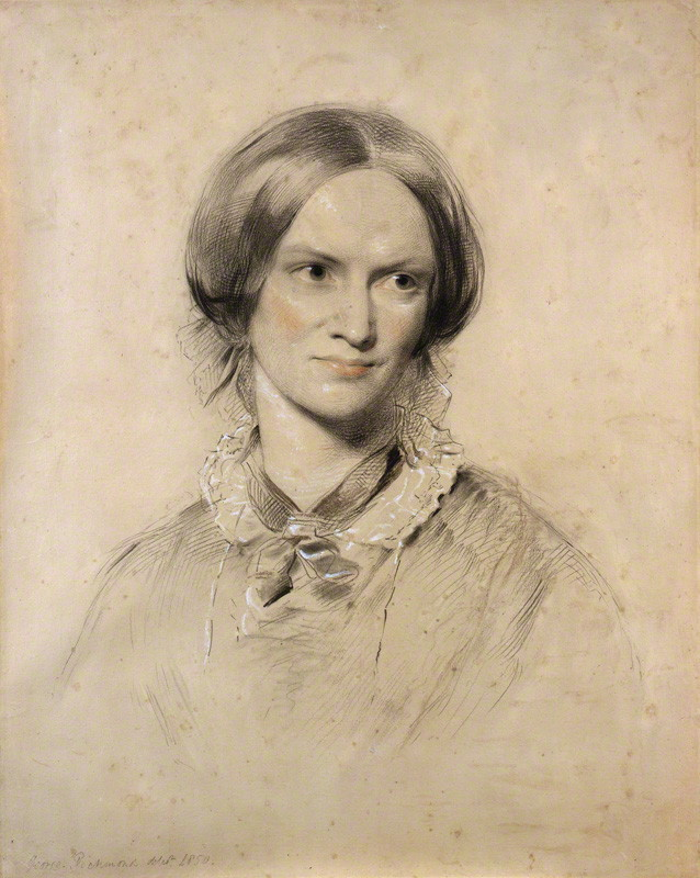 Portrait de Charlotte Brontë par George Richmond