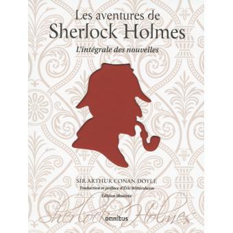 Couverture des aventures de Sherlock Holmes