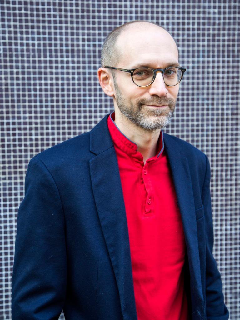 Portrait d'Arnaud Dudek